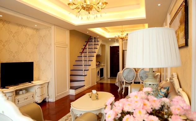 青岛晨阳国际公寓豪华海景复式大床套房住宿推荐图片