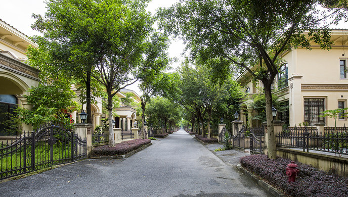 清远恒大锦绣别墅别墅度假金碧说明设计天下古典美式图片