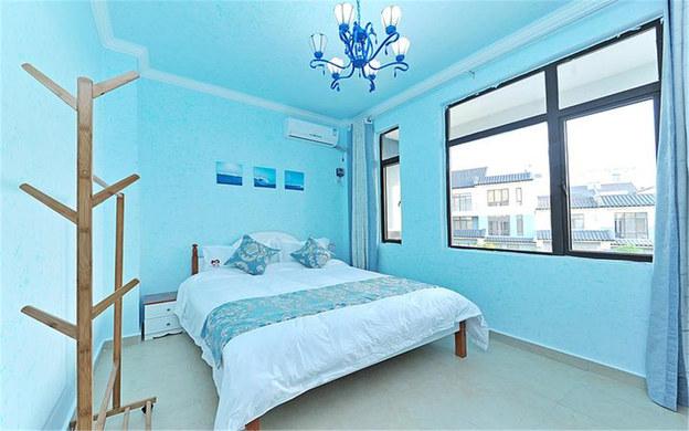 三亚海棠湾椰居七房海洋主题别墅近海边